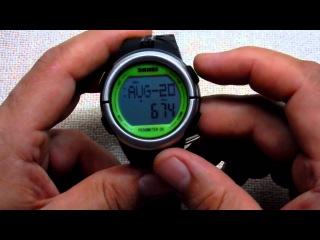 Часы с пульсометром и шагомером SKMEI 1058 - отличный выбор за смешные деньги