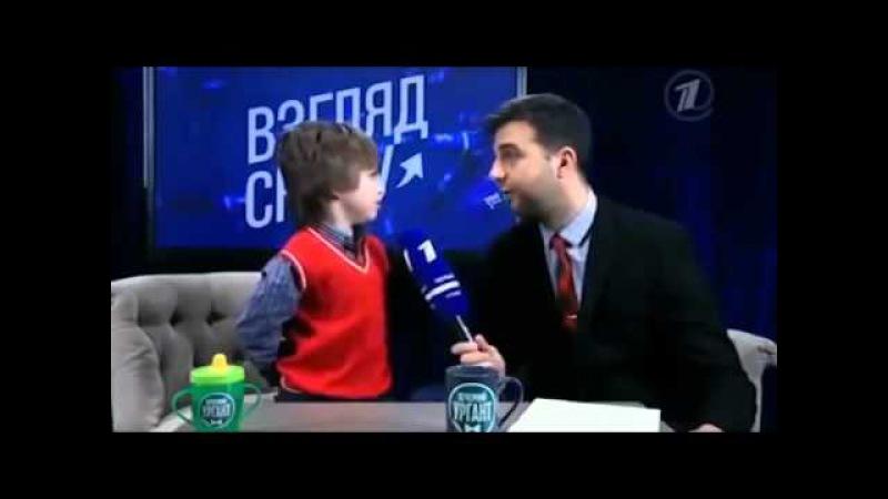 Ах, уж эти детки)) Взгляд снизу, Саша Булатов)) Потрясающий ребенок