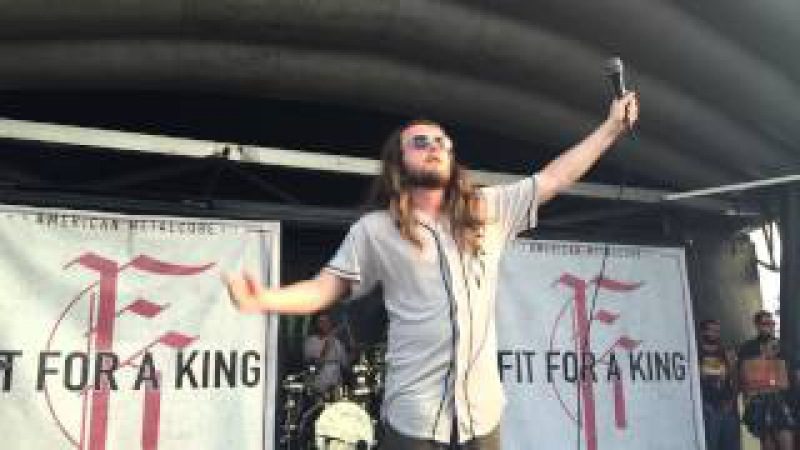 Fit For A King Vans Warped Tour 2015, West Palm Beach, Florida