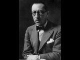 Igor Stravinsky - Pater Noster - Отче Наш (Otche Nash - Church Slavonic)