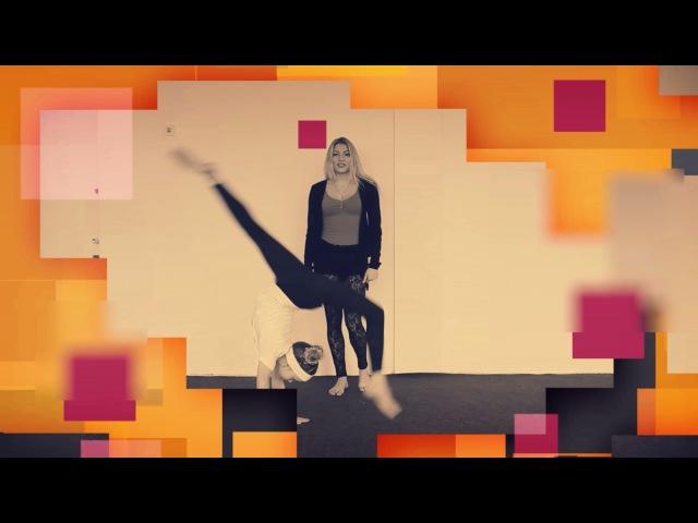 Как сделать переворот вперед на одну ногу. Танцы Онлайн с Кристиной Мацкевич