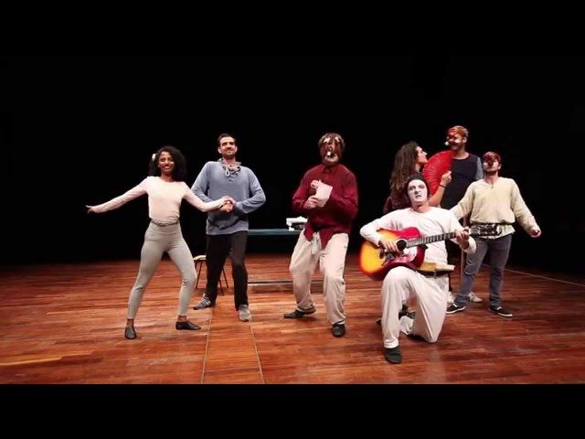 Canovaccio 1 final show Stage Internazionale di Commedia dellArte directed by Antonio Fava