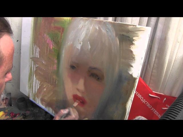Научиться рисовать портрет Игорь Сахаров живопись для начинающих уроки рисования