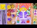 Как нарисовать Снегурочку - урок рисования для детей от 4 лет, рисуем дома поэтапно