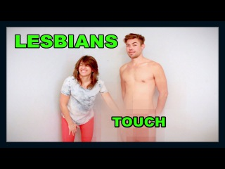 Lesbians Touch Penis For The First Time!