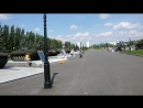 Осмотр выставки военной техники на спортборде 2