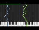 L's Theme - Death Note [Piano Tutorial] (Synthesia)