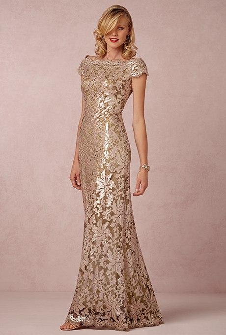 L2kikq4uDSo - Золотое свадебные платья для подружек невесты: металлический блеск гламура (30 фото)