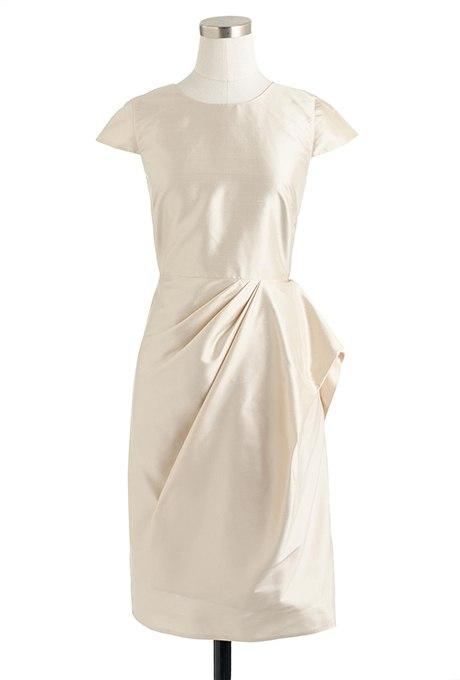 ANxRu9cmifM - Золотое свадебные платья для подружек невесты: металлический блеск гламура (30 фото)
