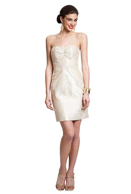 C67p5baHjIQ - Золотое свадебные платья для подружек невесты: металлический блеск гламура (30 фото)