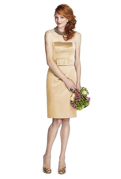 hrbS4qQuiC0 - Золотое свадебные платья для подружек невесты: металлический блеск гламура (30 фото)
