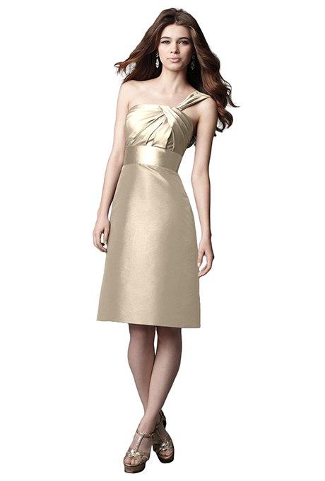dU2ZYdENqrw - Золотое свадебные платья для подружек невесты: металлический блеск гламура (30 фото)