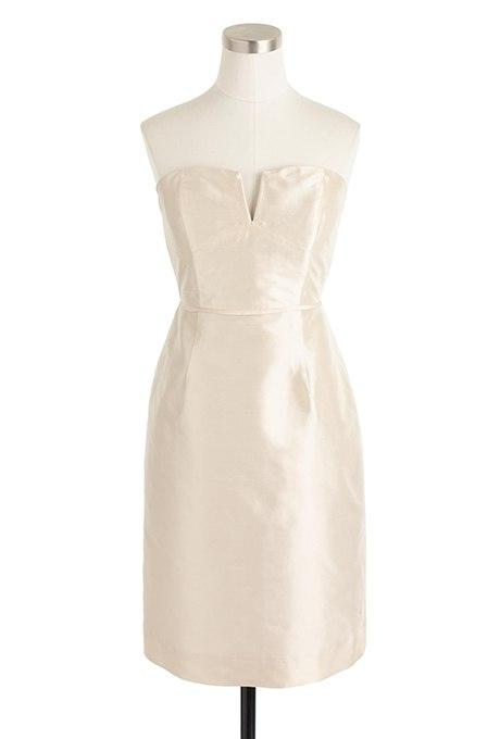 Axa2p8hHNdY - Золотое свадебные платья для подружек невесты: металлический блеск гламура (30 фото)