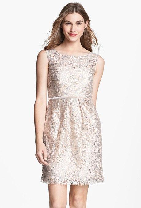 uJeBIW36vCM - Золотое свадебные платья для подружек невесты: металлический блеск гламура (30 фото)