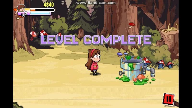 Флэш игра по <<Гравити Фолз(на Английском Gravity Falls),>> часть 1.
