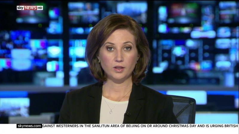 Christmas 2015 on Sky News with Anna Botting, Kimberley Leonard