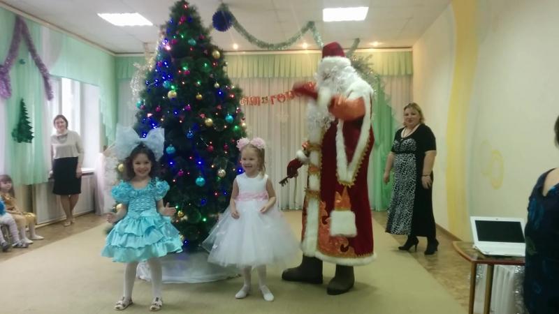 танец кукол новогодний утренник декабрь 2015