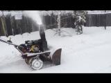 самодельный снегоуборщик к мотоблоку.