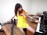 Талантливая тайваньская скрипачка Шара Лин (Shara Lin) порвала Youtube - за неделю больше двух миллионов просмотров.