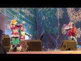 Алёна Мальцева и фольк-шоу ЯРМАРКА - Новогодняя песня (31.12.2015, С-Петербург, Дворцовая площадь)