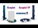 Паллетоупаковщики Ecoplat Robopac для упаковки паллет в стретч-пленку