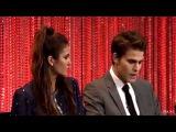 TVD Paley Fest Panel 2014 (Paul Wesley&ampNina Dobrev)