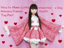 Kawaii DIY-How to Sew A Fancy Lolita Kimono/Yukata (Part 1: Top) for Special Occasions