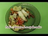 Рыба с овощами в микроволновке