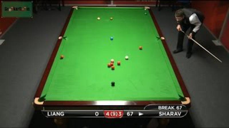Eden Sharav 104 v Liang Wenbo German Masters Qualifiers 2015