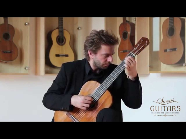 Marcin Dylla plays Lob der Thränen by Franz Schubert on a 1919 Julían Gómez Ramírez