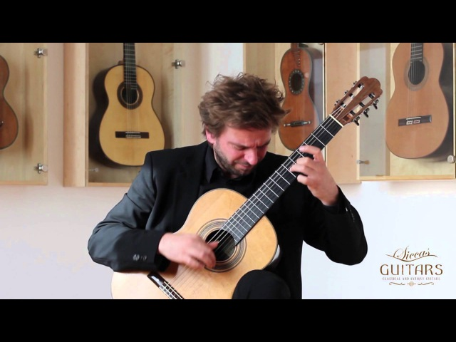 Marcin Dylla plays Variations on Folia de España by Manuel Maria Ponce on a 1948 Hermann Hauser I