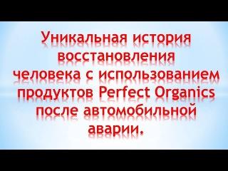 Perfect Organics. Восстановление здоровья после автомобильной аварии. Михаил Власов, Снежинск