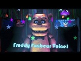 [SFM FNAF] Freddy Fazbear Voice Animated(RUS)
