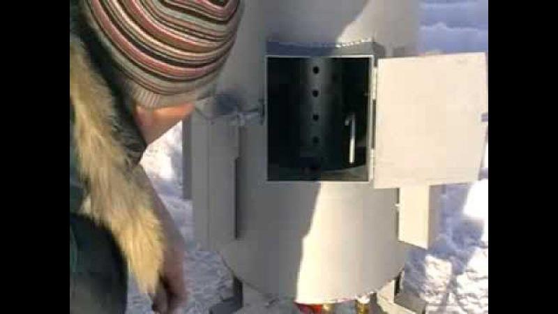 Новая Пожаробезопасная Печь/Котел на отработанном машинном масле, отработке