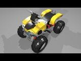 31022-3 Lego Creator Turbo Quad