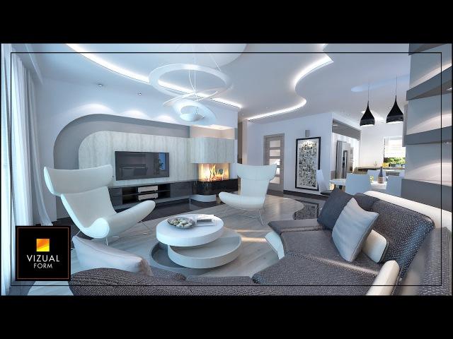 Zobacz tę metamorfozę, projekty pięknych wnętrz w stylu nowoczesnym