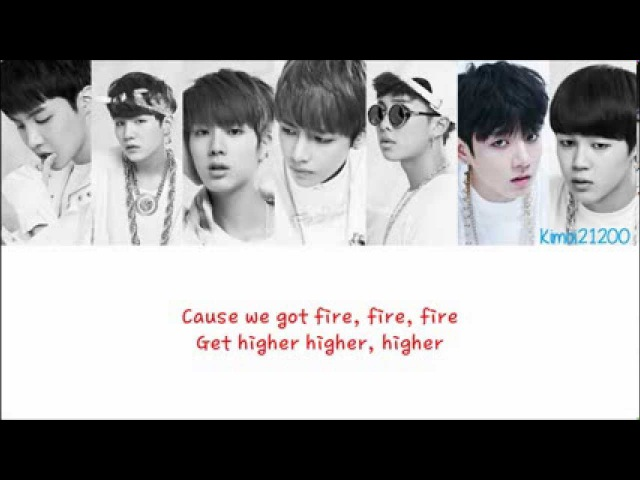 BTS (방탄소년단) - Rise of Bangtan (진격의 방탄) [HangulRomanizationEnglish] Color Picture Coded HD