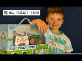 Развивающие игрушки для детей. Развивающий Робот Конструктор. Huna Fun & Bot My Robot Time Exciting