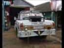 Суровый автотюнинг по-карамышевски - шторки на окнах и надписи по-английски