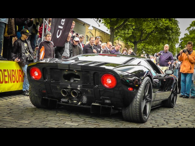 1240hp Heffner Ford GT Twin Turbo LOUD SOUND