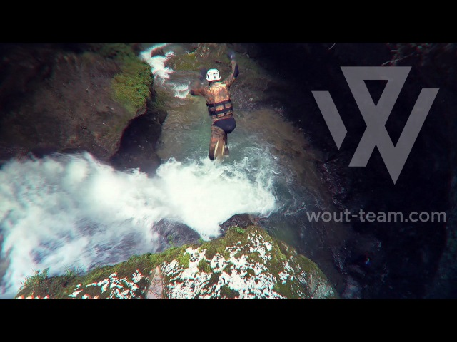 Каньонинг в Гуамке. Extreme canyoning. WOUT TEAM.
