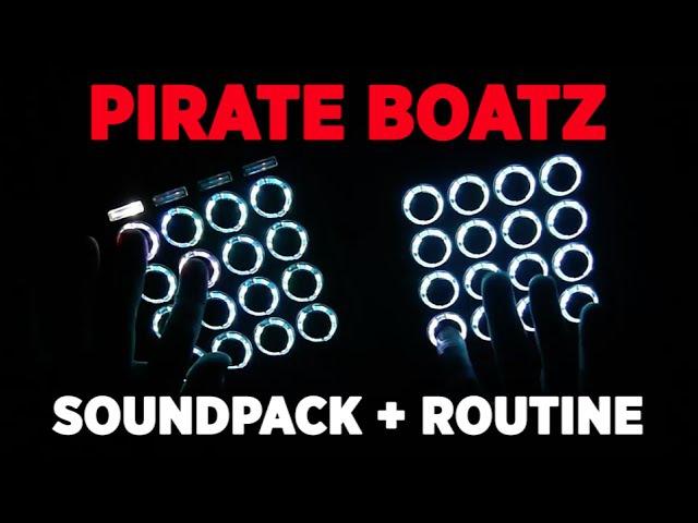 Pirate Boatz Midi Fighter Routine by Apoth (free soundpack in description)