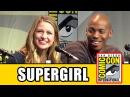 Supergirl Comic Con Panel - Melissa Benoist, Mehcad Brooks, Chyler Leigh, David Harewood