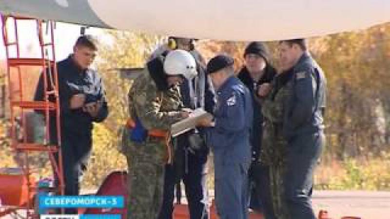 Severomorsk-3 AFB.Pilots returned from NITKA