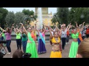 Индийский флешмоб в Александровском саду, Санкт-Петербург, 1 июня 2014г., Indian Flashmob