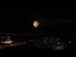 Салют в Сыктывкаре на НГ 2016