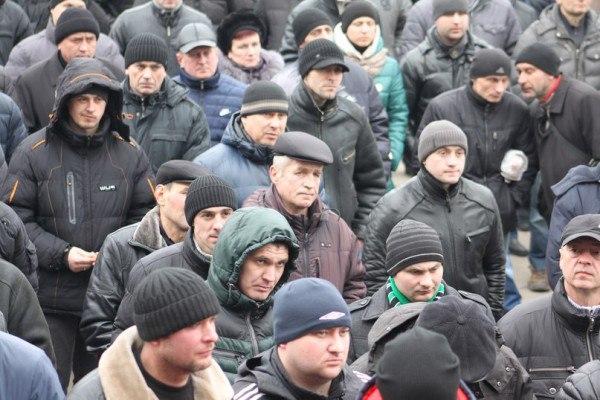 Шахтарі перекрили автошлях Львів – Рава-Руська