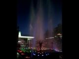 Цветной фонтан !Красноярск- 9 Мая