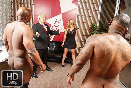 BlacksOnBlondes – Cherie Deville – Megyn Gets Trumped