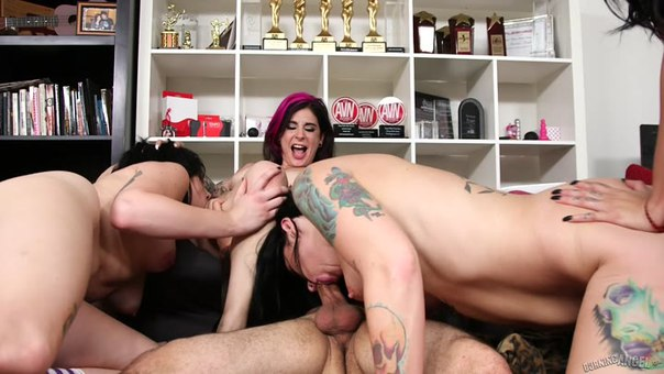 BurningAngel – Joanna Angel, Lily Lane, Nikki Hearts, Small Hands, Jordyn Shane – Making The Band